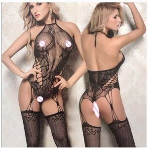 Hot New Sexy Floral Lace Mesh Body Lingerie